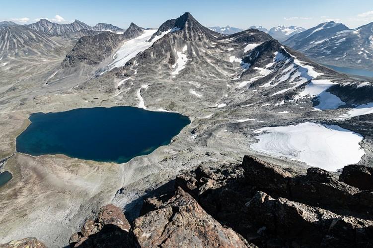 Ascension du Kyrkja - Jotunheimen