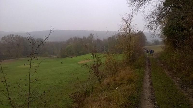 Seraincourt - Randonneurs et golfeurs