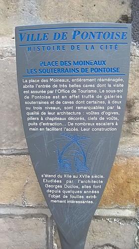 Pontoise Place des Moineaux