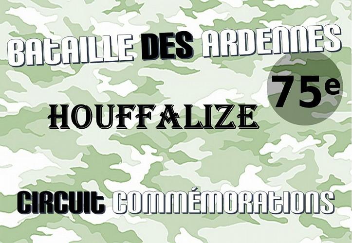 Houffalize: circuit commémorations 75ème Bataille des Ardennes