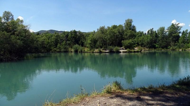 Le lac de Gaubert N°11 Digne-les-Bains