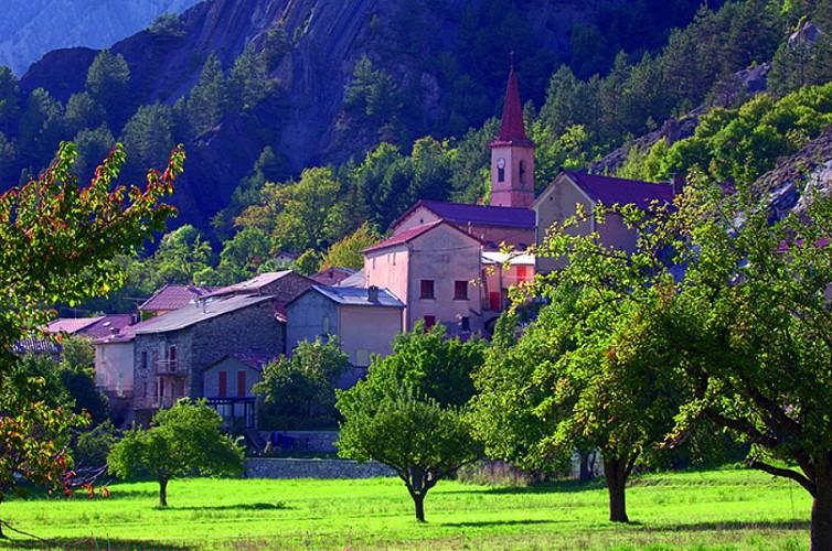 Le hameau de Tercier N°17 Prads-Haute-Bléone