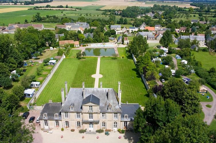 Château de Martragny, du plateau d'Esquay au Val de Seulles