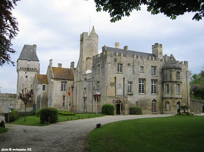 From the Château de Martragny to the canton of Creully, Castles and churches of Bessin