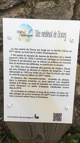 Chemin de Montaigne - GR 89 - De Saint-Martin-Lestra à Poncins
