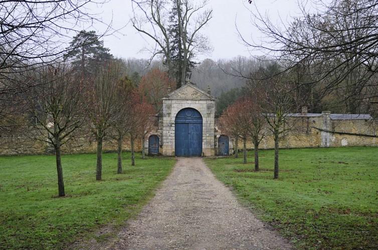 entrée de l'abbaye du tresor