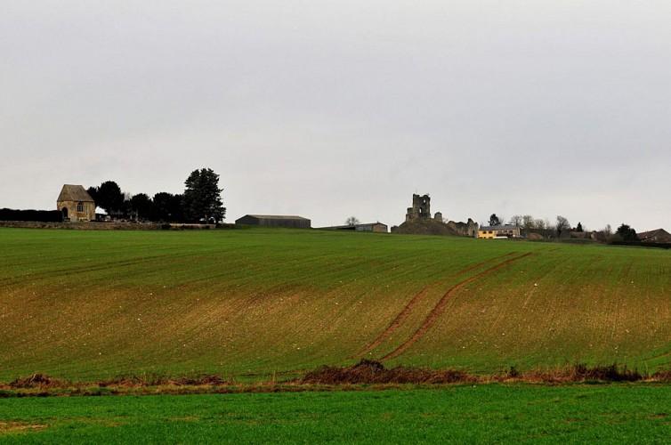 chateau medieval de chateau sur epte