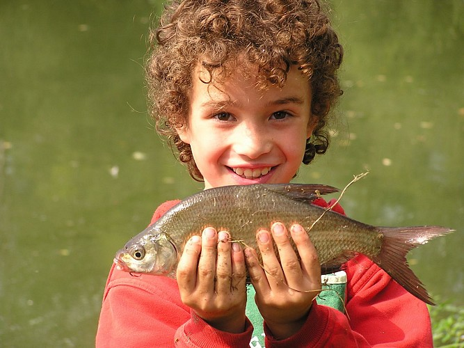 Le Vert, paradis de la pêche