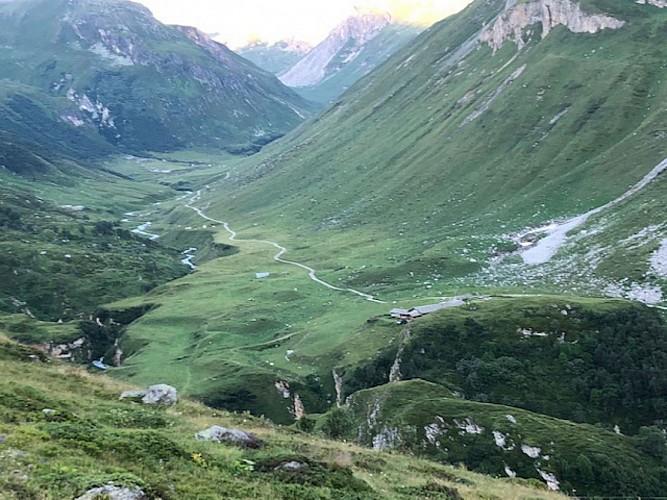 Vue sur la vallée (Granges du Ritort)