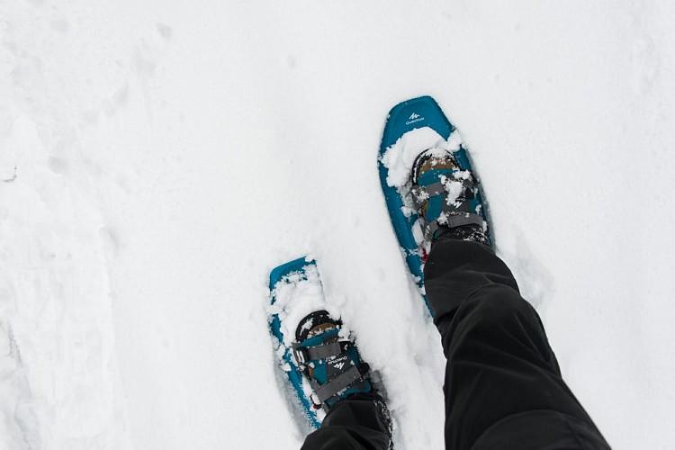 Rando et bivouac hivernal dans les Hautes Fagnes