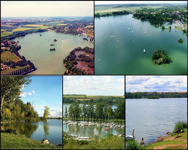 Grand tour du Plan d'eau de Mézières-en-Drouais et Ecluzelles