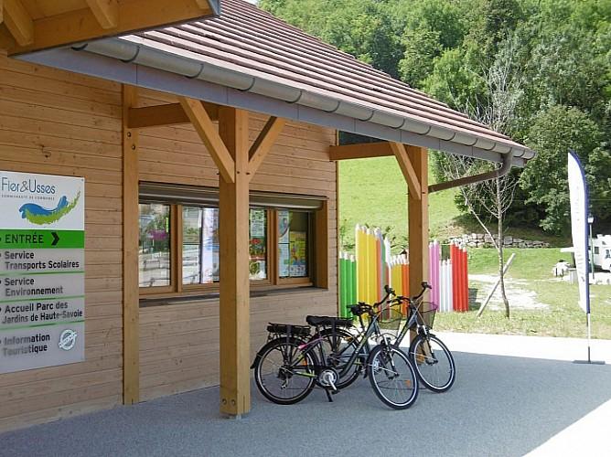 Itinéraire vélo - Du lac de La Balme au lac d'Annecy