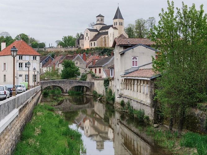 Châtillon sur Seine - l'église Saint Vorles