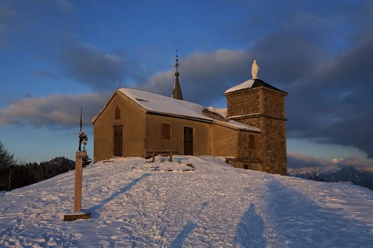 """Randonnée Raquettes """"la Chapelle d'Hermone"""""""