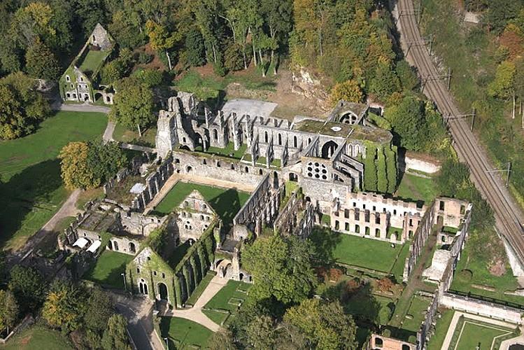 Court-Saint-Etienne : Grande balade autour de l'Abbaye de Villers-la-Ville.