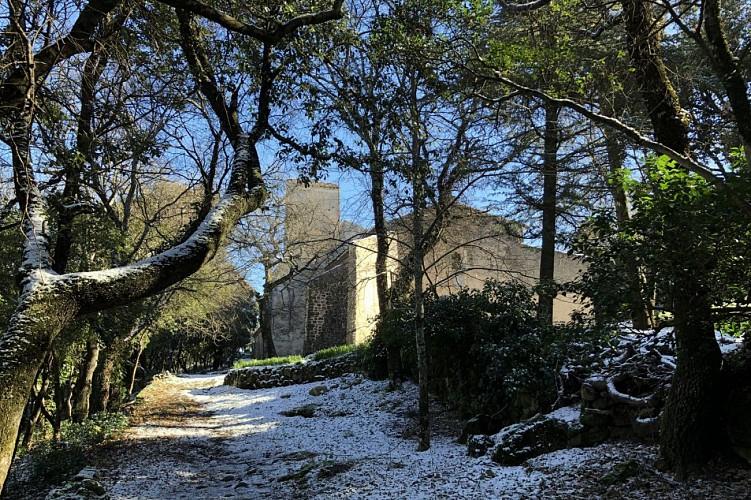 La chapelle en hiver