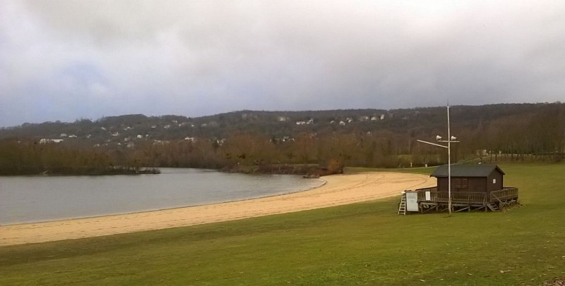 Base de Verneuil - Etang du Gallardon - La Plage