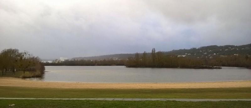 Base de Verneuil - Etang du Gallardon - La pluie arrive