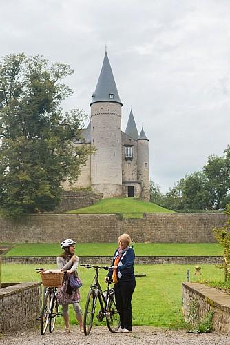 Circuit vélo autour de Houyet (Celles)