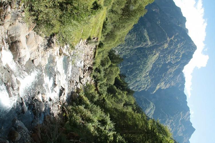 randonnée de tois jours à quelques kilomètres de Bagnères de Luchon