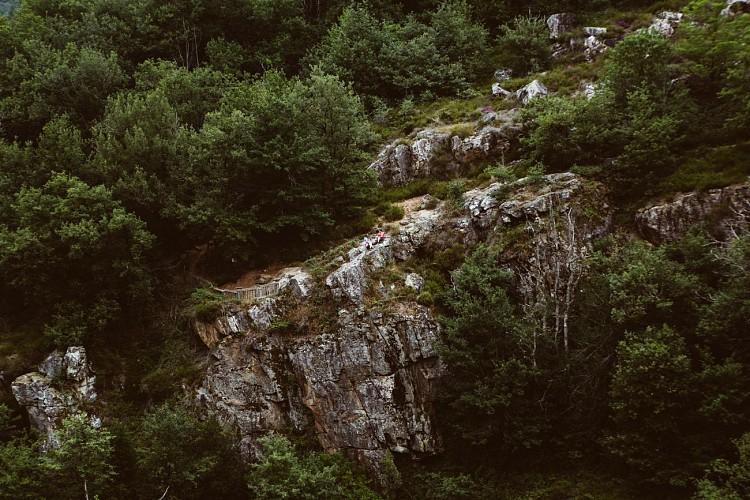 Sentier de découverte des Cascades d'Arifat