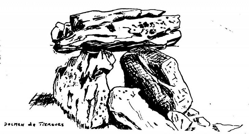 Le dolmen de Tiergues