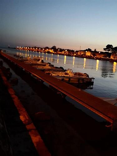 rive Est de l'embouchure de l'H'érault