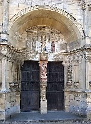 St Gervais - Portail de l'Eglise