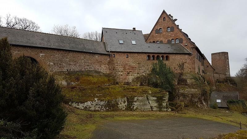 Randonnée de 10km :Col de la tête du Christ, Pfannenfelsen, Chateau de Hunebourg, rocher de la Guérite, Gros Chêne