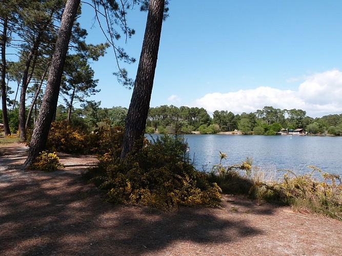 Balade à roulettes : Le lac de la Magdeleine