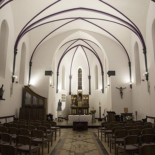 Niets is te mooi voor een kerk