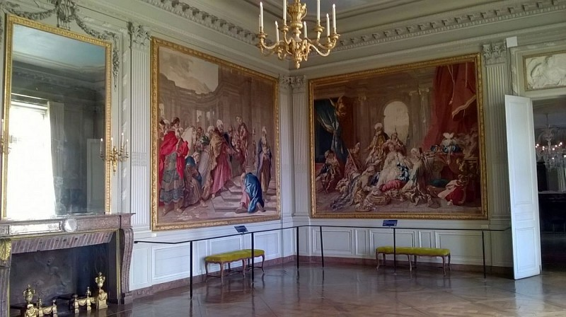 Chateau de La Roche Guyon - La grande galerie