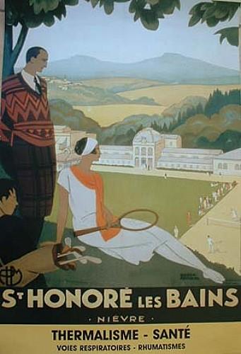 Saint-Honoré-les-Bains : thermes, villas et anciens hôtels