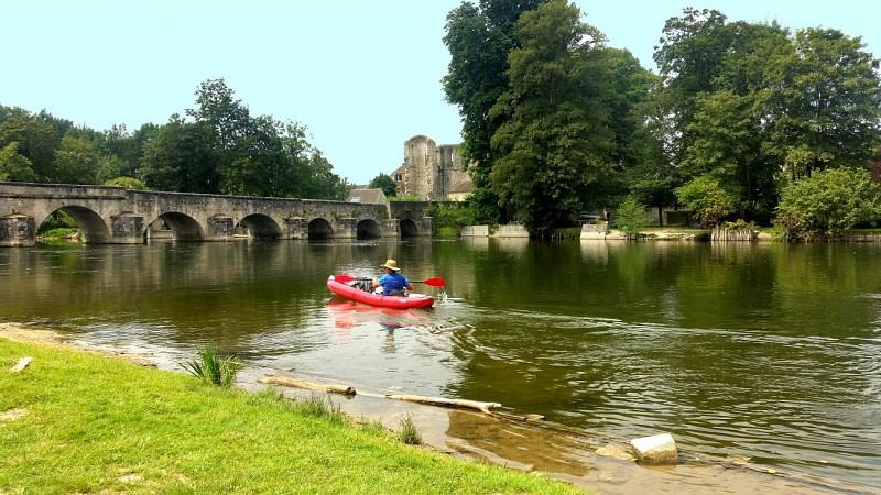 Der Loing im Kayak