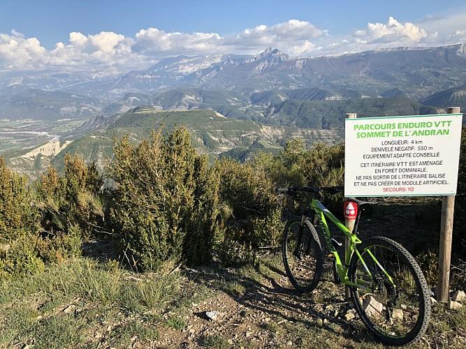 Enduro Sommet de l'Andran N°25 Digne-les-Bains