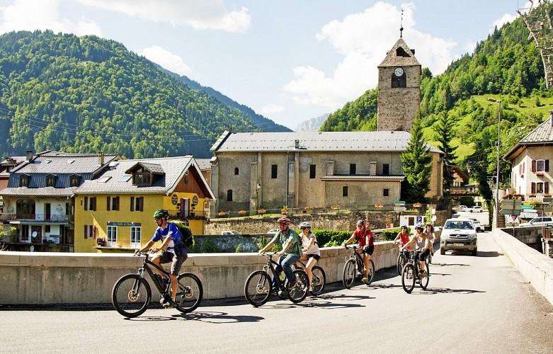 E-Trekkingbike-Route - Route Panoramique