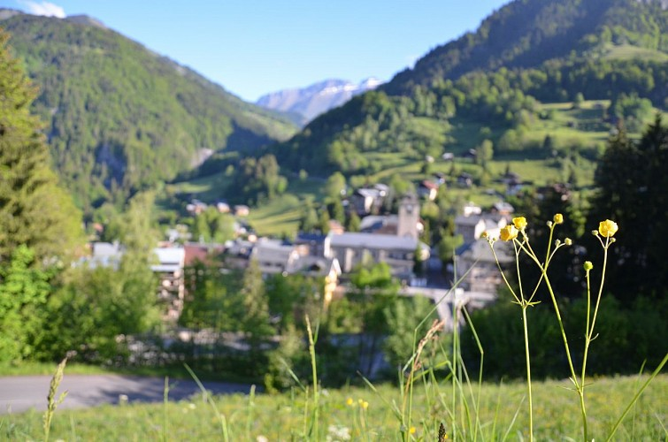 Electric touring bike itinerary - Flumet / Saint Nicolas