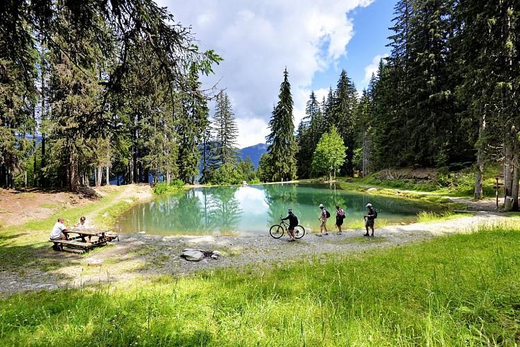 "Lake of ""Les Evettes"""