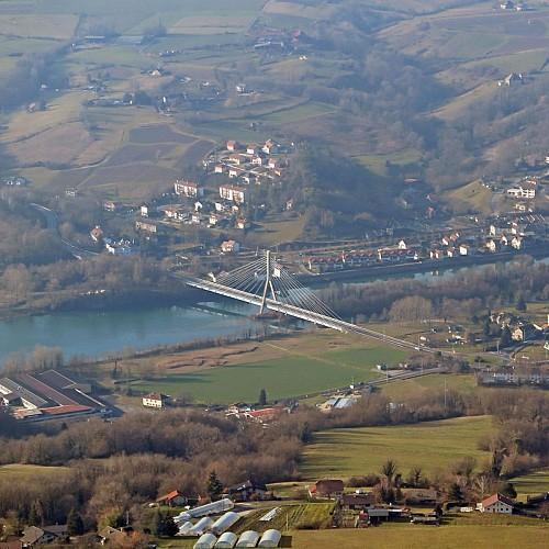 Vue sur le Rhône