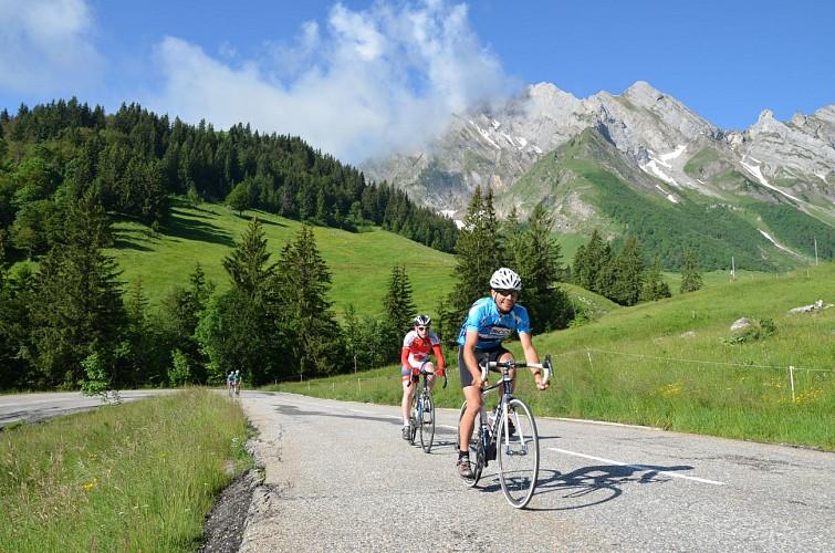 Towards Mont Reguet