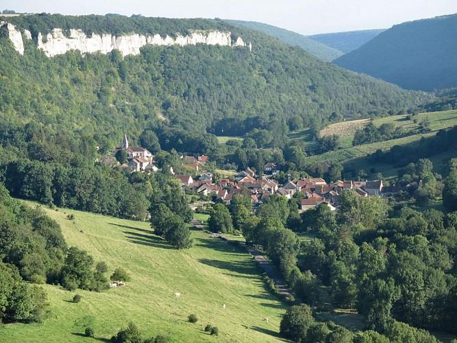 """Bouilland, les falaises """"cathédrales"""""""