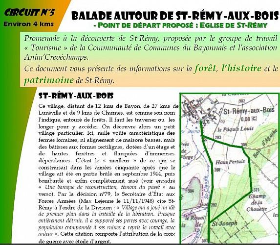 Saint-Rémy-Aux-Bois et la reconstruction d'après guerre