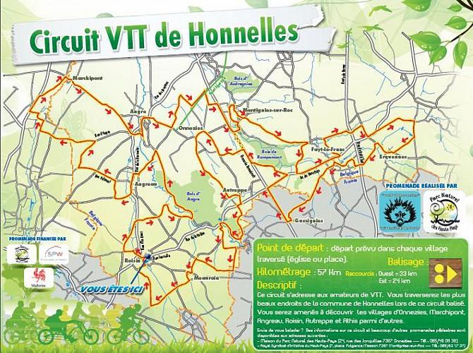 Circuit VTT de Honnelles