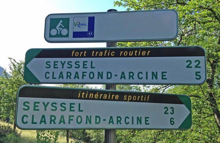 Via Rhona Etape 9 (Geneve-Chancy-Vulbens)