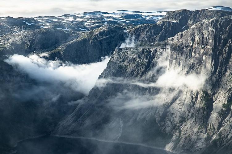 Randonnée de Trolltunga - Norvège du Sud