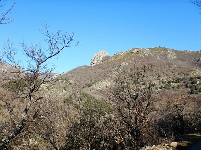 Col de la Gardiole vue vers Taoutello