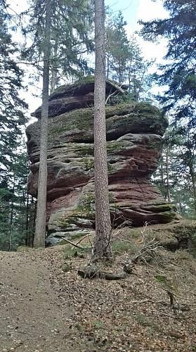 Parcours des roches de la Vancelle et Frankenbourg