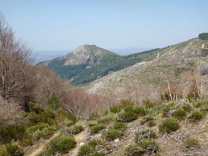 Vue du Col de la Croix de la Guérite vers le Nord
