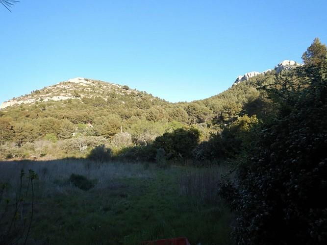 Col du Puy Rouge vu de Duché