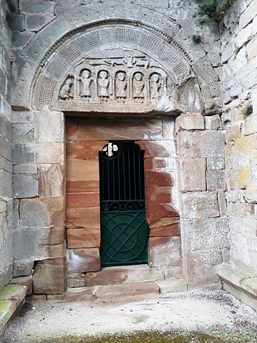 Tympan de Saint Caprais